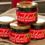 Pickled Walnuts in jar